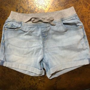 Justice Size 18 Girls Wide waist band shorts